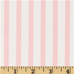 Pimatex Basics Stripe Pale Pink Fabric