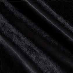 Hollywood Upholstery Velvet Black Opal