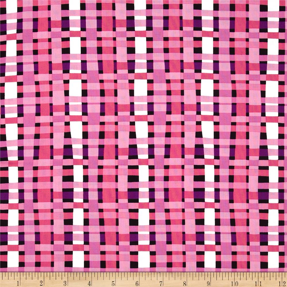 Think Pink Plaid Pink/Purple