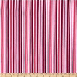 Riley Blake Summer Song 2 Stripe Pink