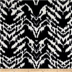 Polar Fleece Print Aberdeen Black White