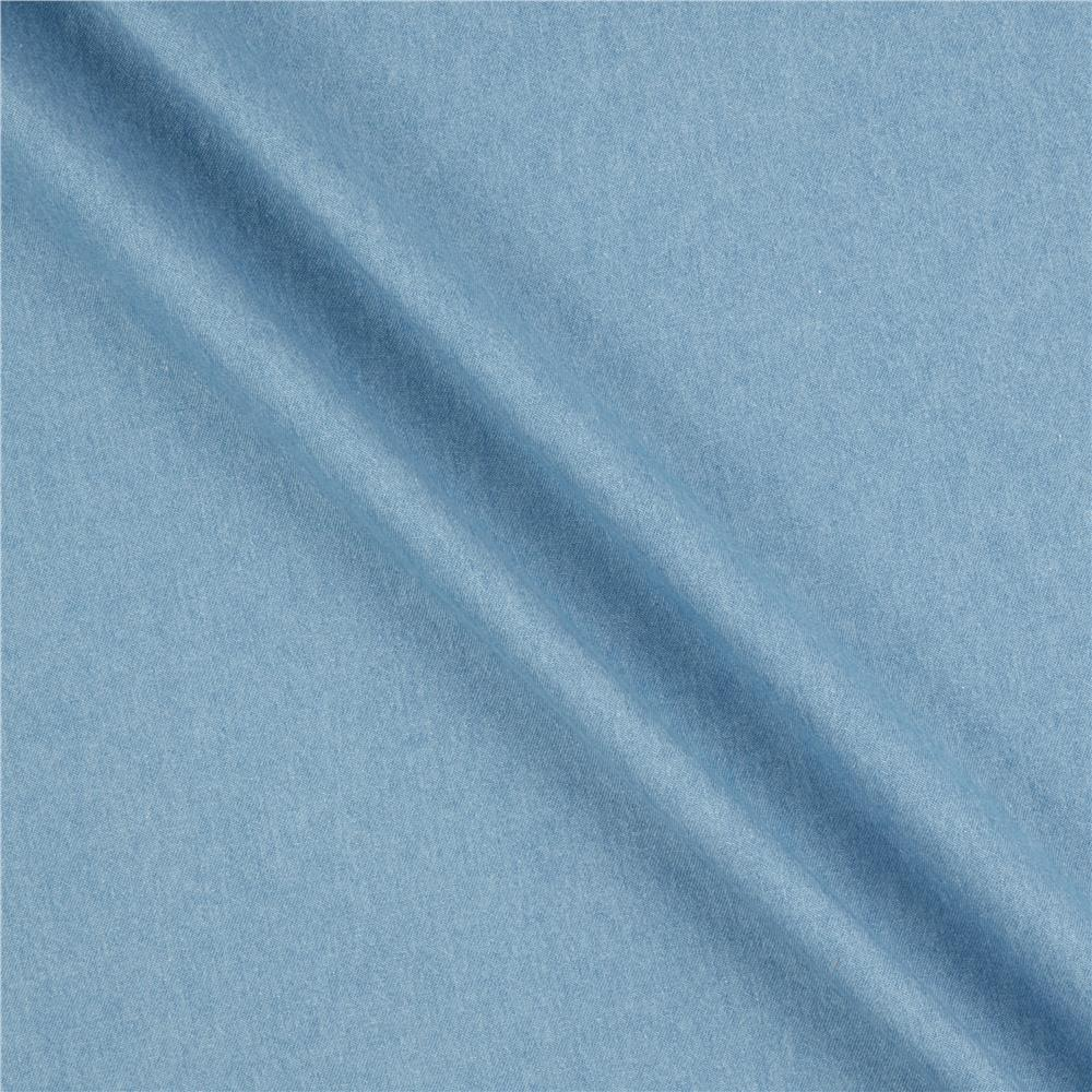 Kaufman Indigo Denim 6.5 Oz Washed Bleach Indigo