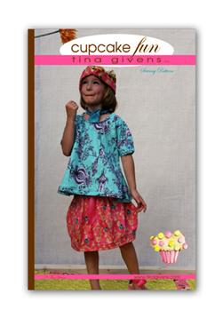 Tina Givens Cupcake Fun Top & Skirt Pattern