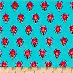 Timeless Treasures Delilah Set Foulard Turquoise