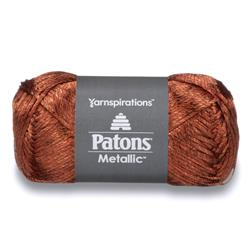 Patons Metallic Yarn (95628) Metallic Orange