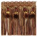 "Fabricut 6.25"" Sinead Bullion Fringe Copper"