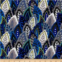 Marimba Packed Feathers Royal/Blue