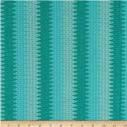 Stretch Stella Knit Chevron Aqua
