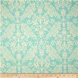 Riley Blake Home Décor Large Damask Aqua Fabric