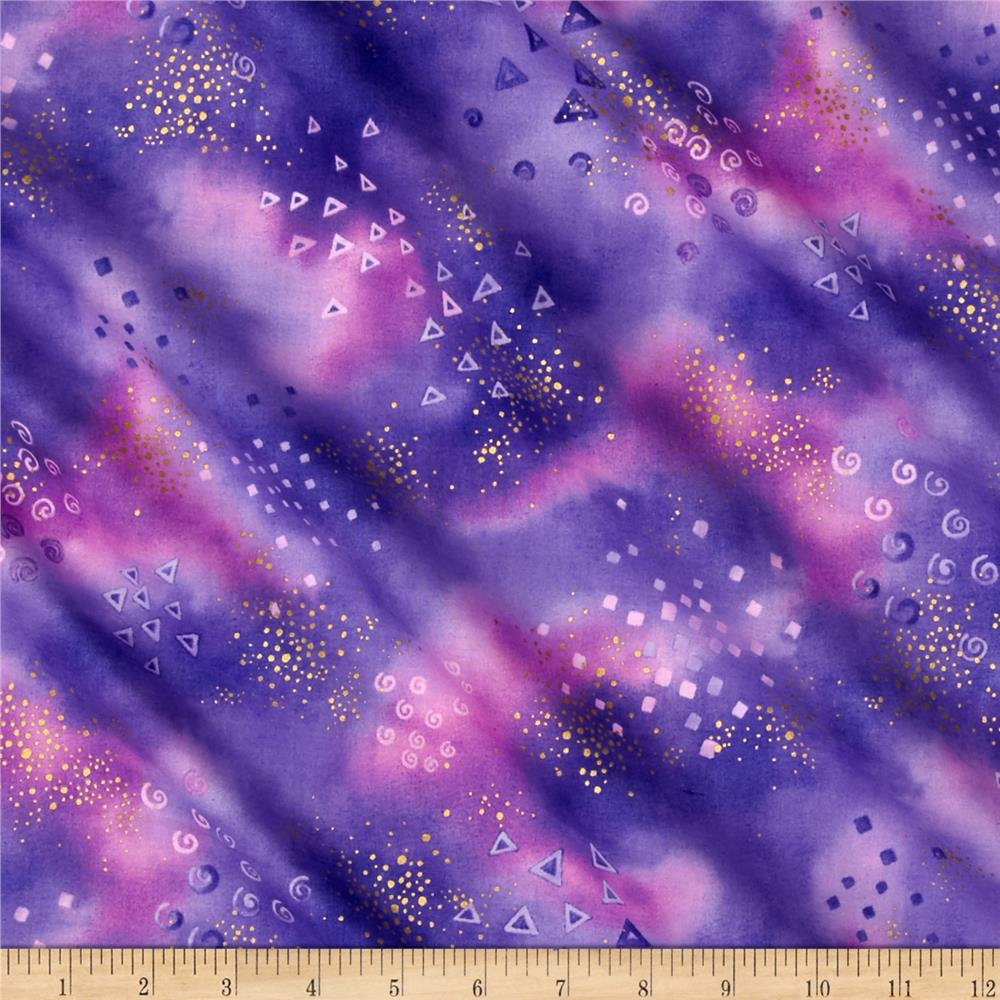 Laurel Burch Basics Glitter Purple