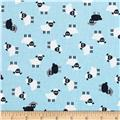Kaufman Urban Zoology Minis Sheep Blue