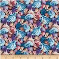 Coral Sea Seashells Blue/Multi