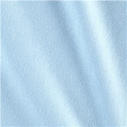 French Terry Solid Powder Blue