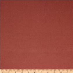 French General Florence Linen Blend Rural Red