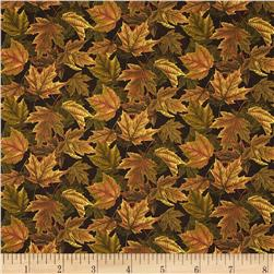 Turkey Run Autumn Foliage Green/Brown