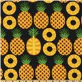 Hoodie's Collection Pineapple Black