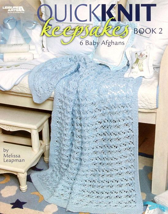 "Leisure Arts ""Quick Knit Keepsakes"" Book 2"