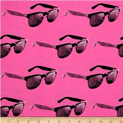 Moda Dapper Prints Mercury Rising Flea-Pink-O