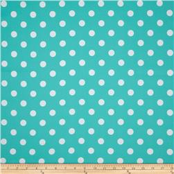 RCA Polka Dots Blackout Drapery Fabric Jade