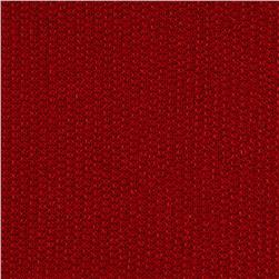 Novelty French Terry Knit Dull Red