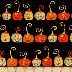 DT-K Signature Witchy Pumpkins Black