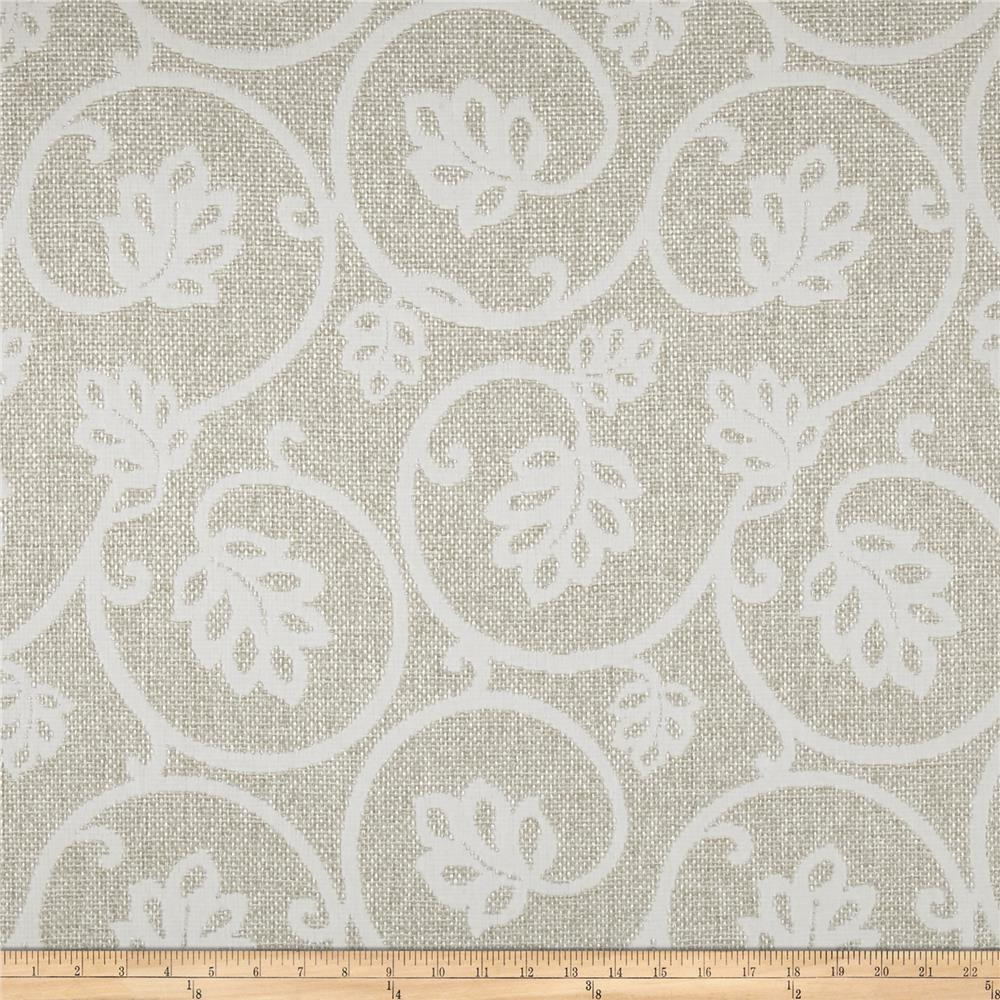 Waverly Main Act  Basketweave Jacquard Birch