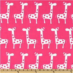 Premier Prints Gisella Candy Pink/White Fabric