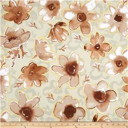 Kathy Davis Enchantment Sateen Promise Silver Sage Fabric