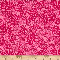 Packed Floral Pink