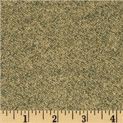 Kaufman Shetland Flannel Textured Solid Olive Fabric