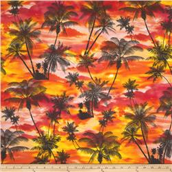 Ocean Avenue Tropical Sunset Orange