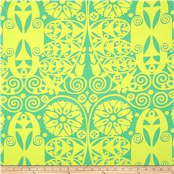 Amy Butler Temple Home Decor Sateen Doors Grass