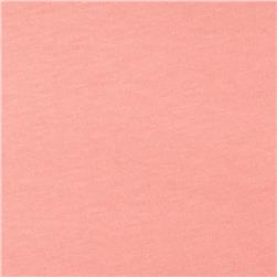 Cotton Jersey Knit Solid Baby Powder Pink