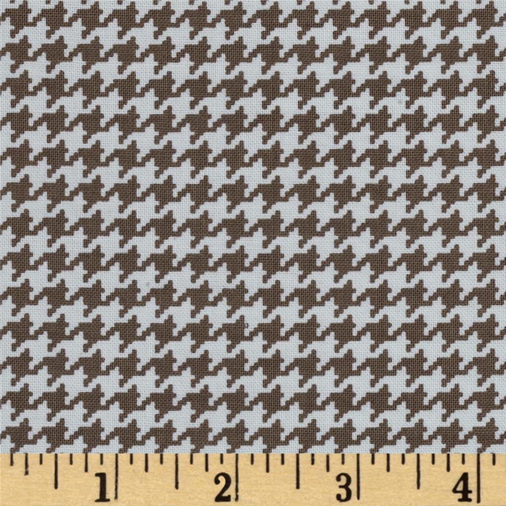 Michael Miller Tiny Houndstooth Taupe