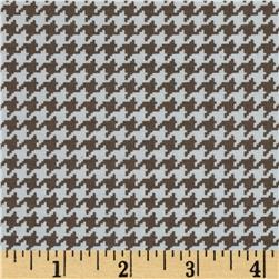 Michael Miller Tiny Houndstooth Taupe Fabric