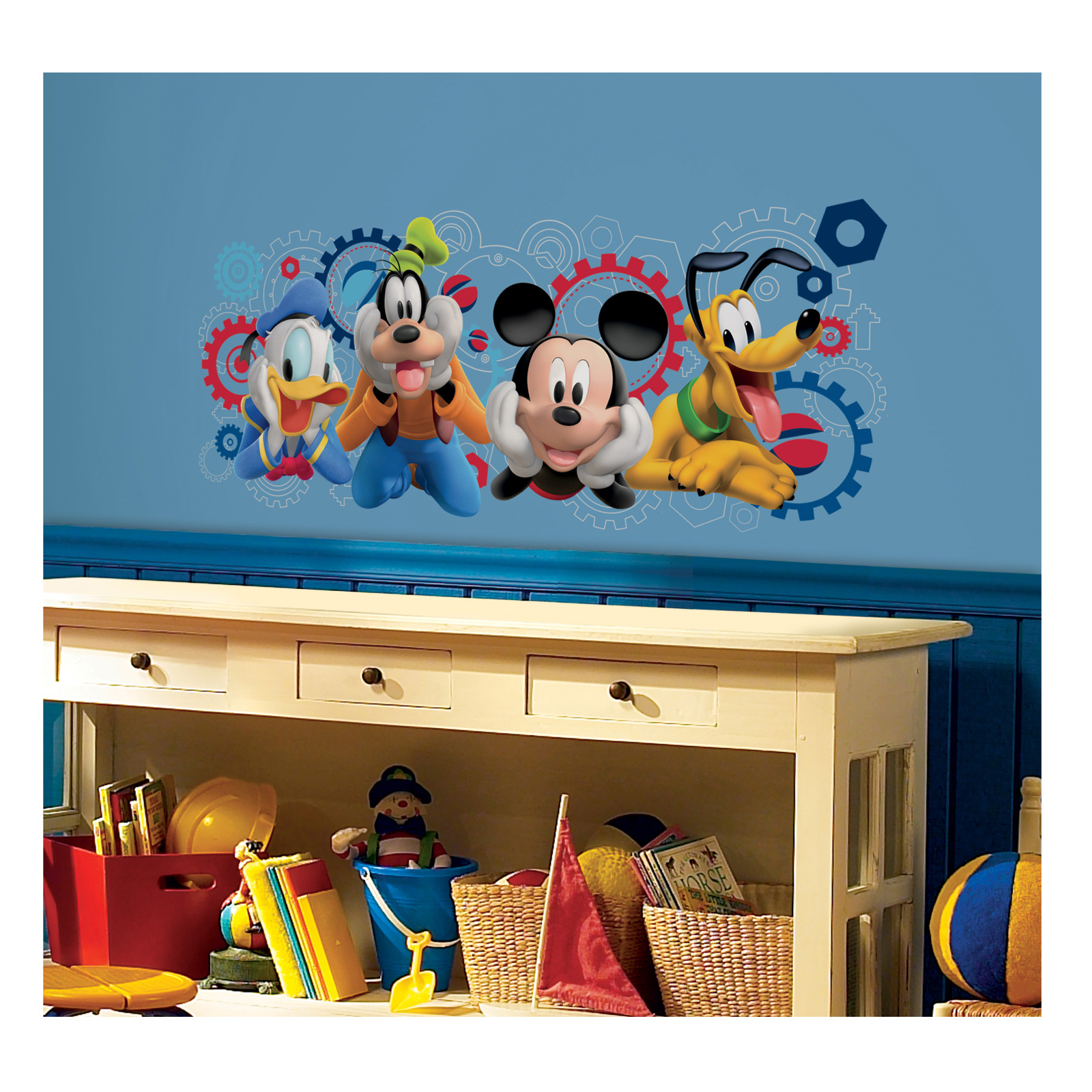 Mickey Mouse Clubhouse Capers Giant Wall Decal by Stardom Specialty in USA