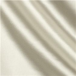 Poly Charmeuse Satin Dark Ivory Fabric