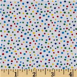 Essentials Petite Dots White/Multi