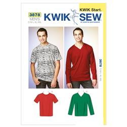 Kwik Sew Mens Men's Knit Shirts (3878) Pattern