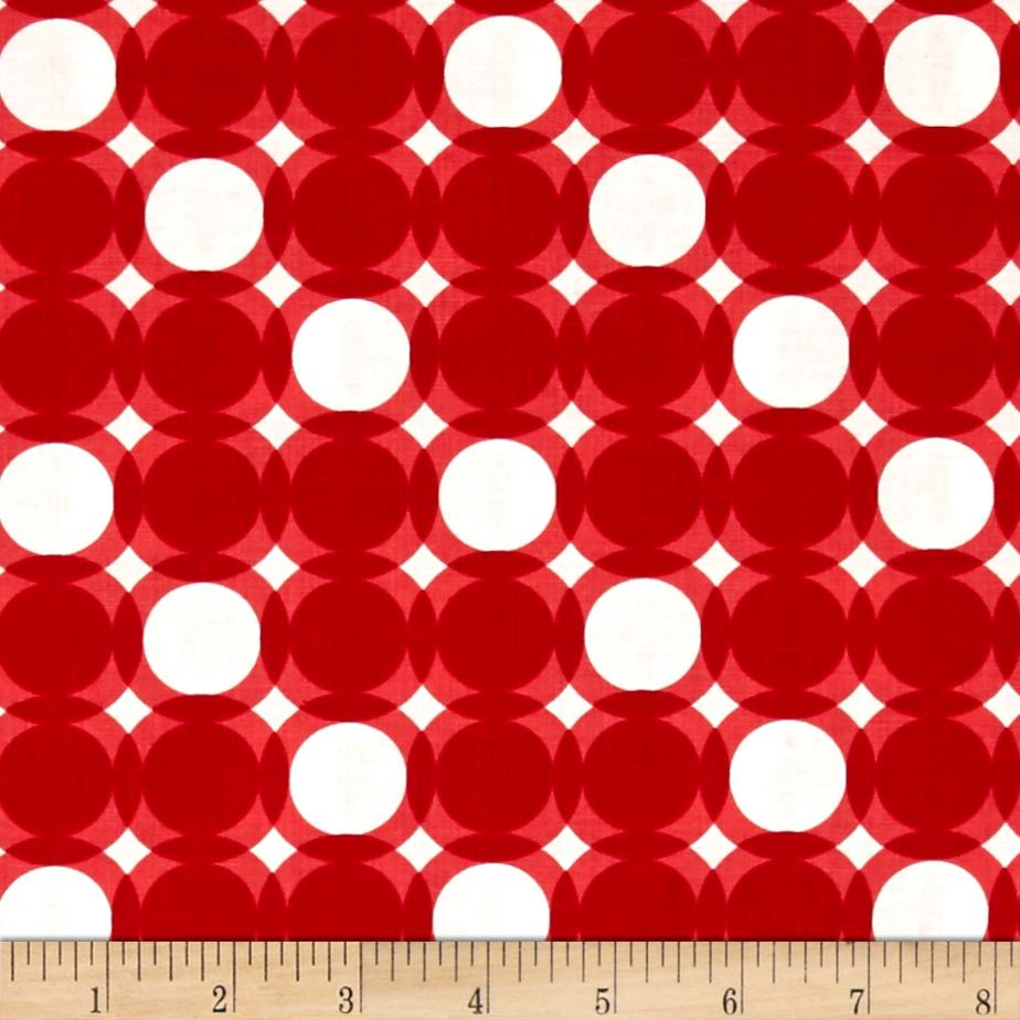 Modern Tyke Geo Dot Red