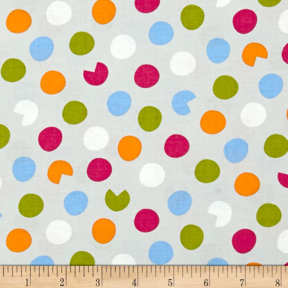 Precious Novelty Dots Grey
