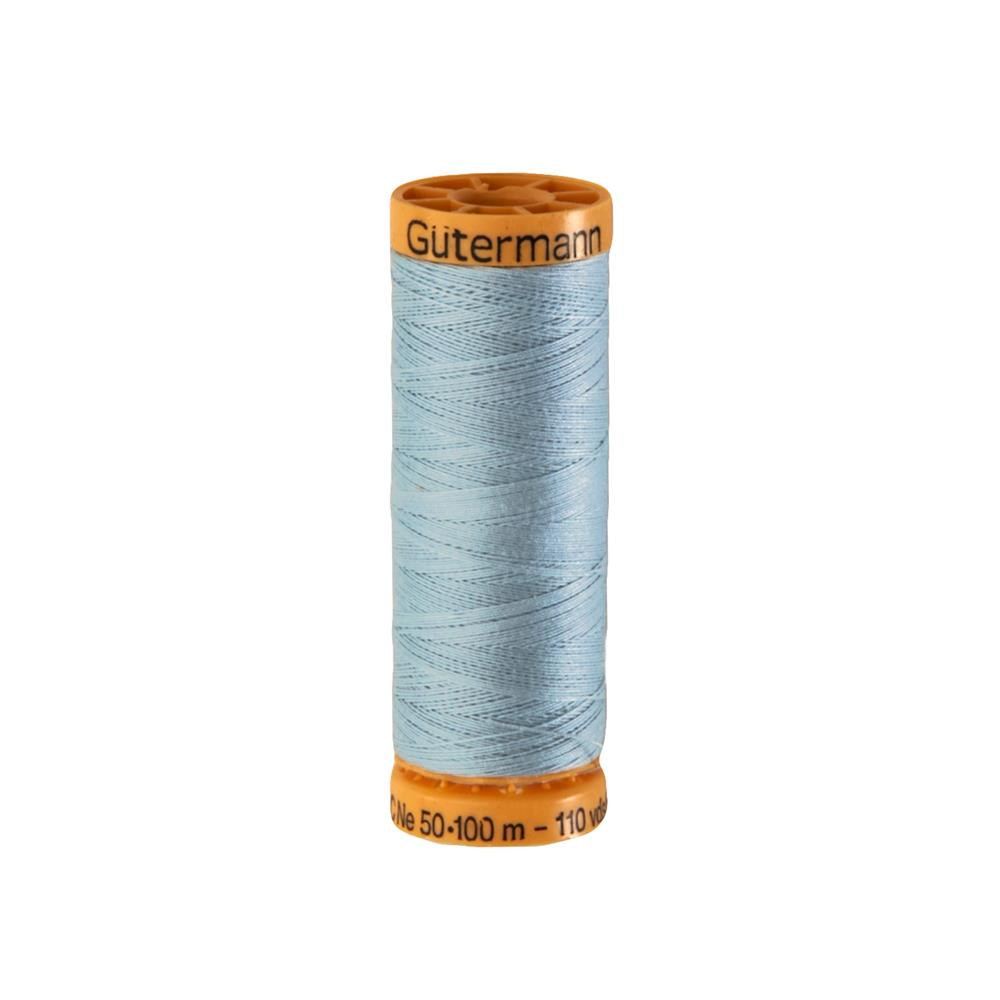 Gutermann Natural Cotton Thread 100m/109yds Pale Blue