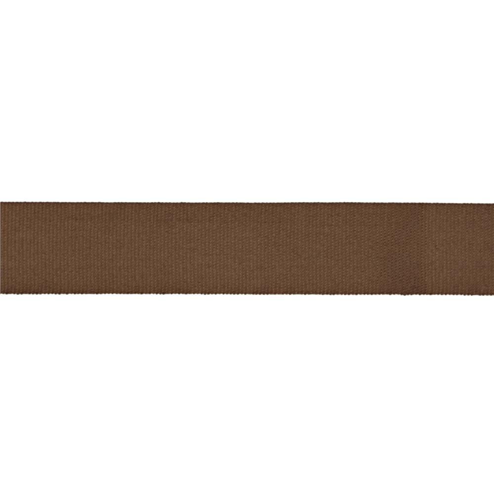 "5/8"" Faux Canvas Ribbon Brown"