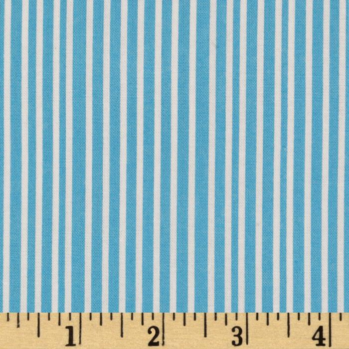 Hello Pilgrim Stripes Blue/White