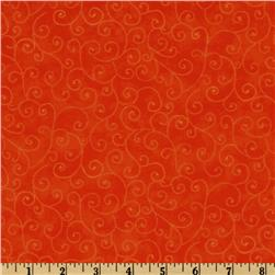 Moda Marble Swirls (9908-14) Orange Fabric