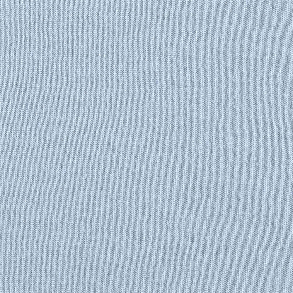 Cotton Interlock Knit Baby Blue
