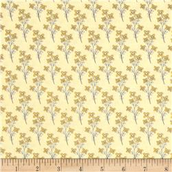 Vintage Sunshine Mini Floral Yellow