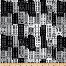 Kanvas Britain's Best City Flats Black/Gray