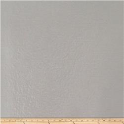 Fabricut Platinum Faux Leather Silver