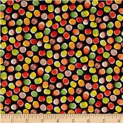 Forest Friends Textured Spot Red/Gold/Green/Black